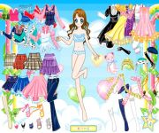 Air Fairy Dress Up gra online
