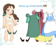 Belle Dress Up gra online