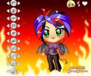 Cute Little Devil Dress Up gra online