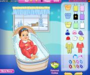 Dress My Baby gra online