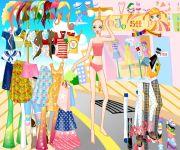 Summer Shopping Dress Up gra online