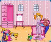 Urządź Różową Sypialnię gra online