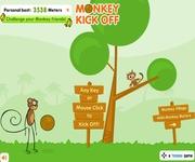 Monkey kick gra online