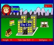 Video game sim gra online